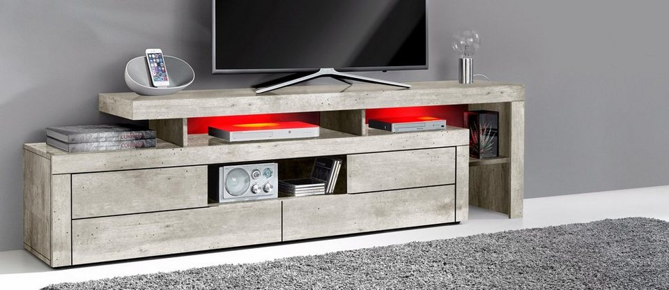 lowboard breite 193 cm online kaufen otto. Black Bedroom Furniture Sets. Home Design Ideas