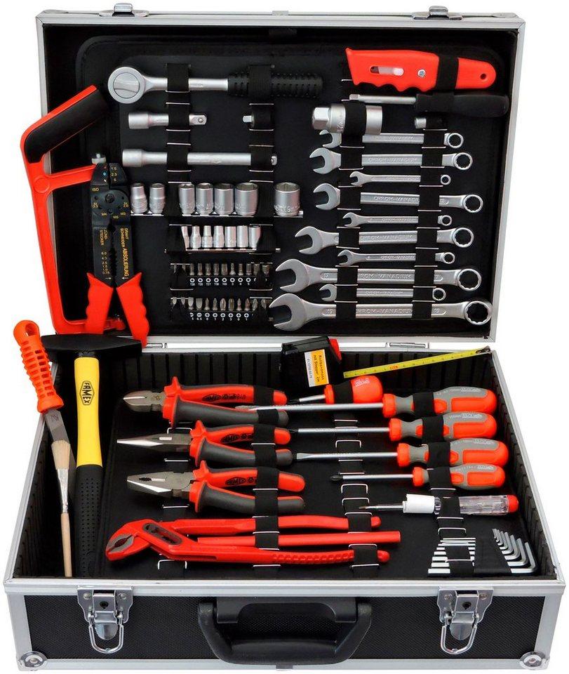 Werkzeugkoffer »125-tlg.« FAMEX 759-63 in schwarz