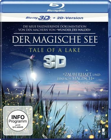 Blu-ray »Der magische See - Tale of a Lake (Blu-ray 3D)«