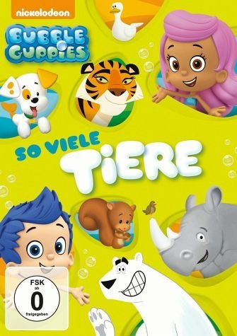 DVD »Bubble Guppies - So viele Tiere«