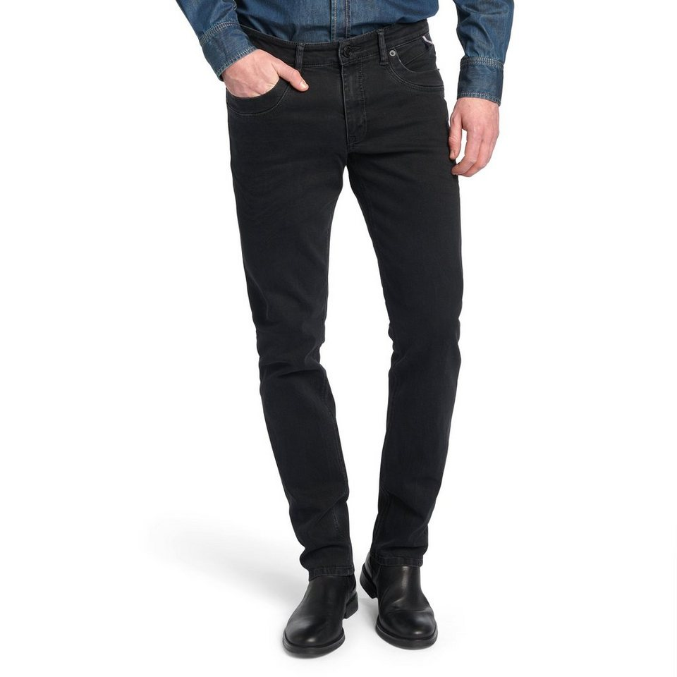 H.I.S Jeans »Cliff« in Raven black