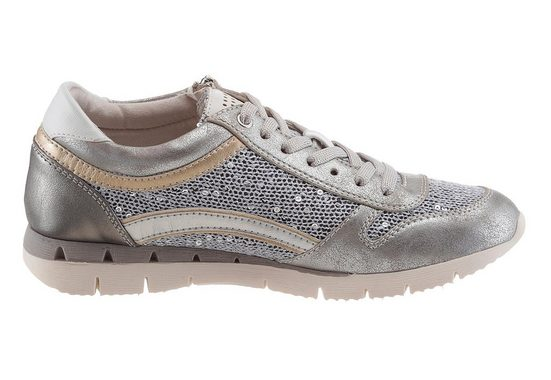 Marco Tozzi Sneaker With Sequin Decoration