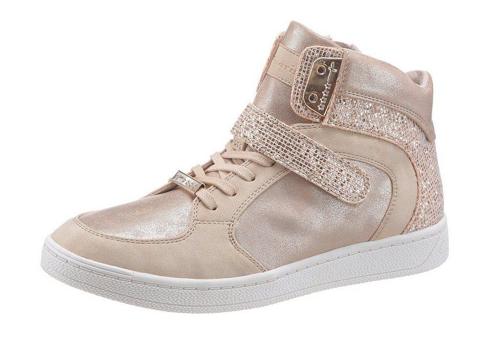 Tamaris Sneaker in goldfarben