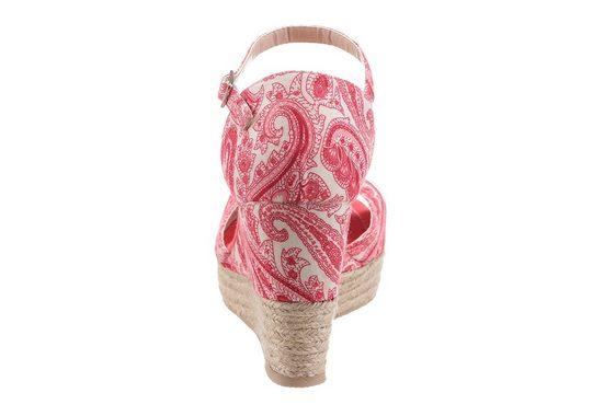 CITY WALK Sandalette, mit Paisley-Muster