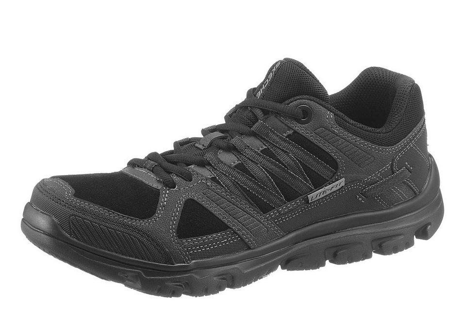 Skechers Sneaker mit Memory Foam in schwarz