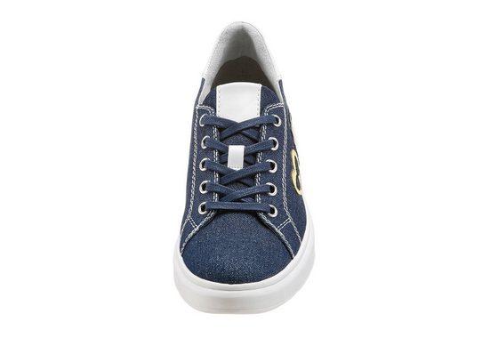 Tamaris Sneaker, mit trendigen Aufnähern