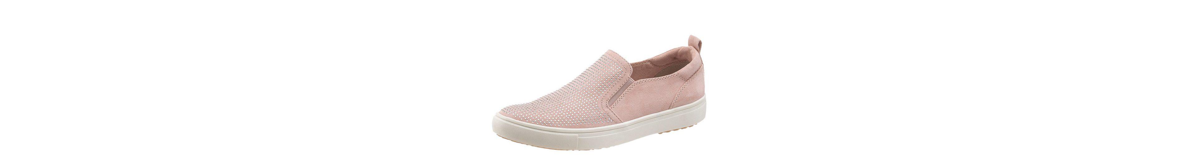 Tamaris Sneaker, mit schöner Steinchenverzierung