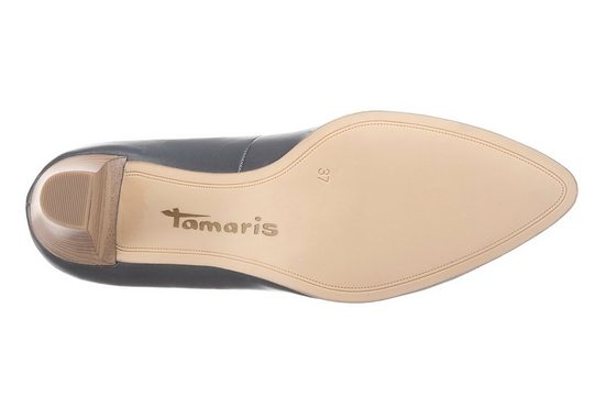 Tamaris Pumps, in spitzer Form