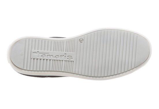 Tamaris Sneaker, mit Metallic-Effekten