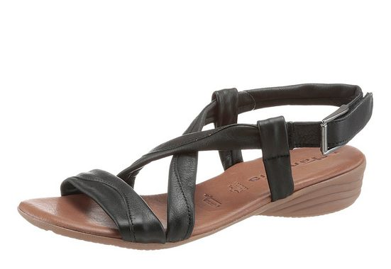 Tamaris Strappy Sandal With Velcro