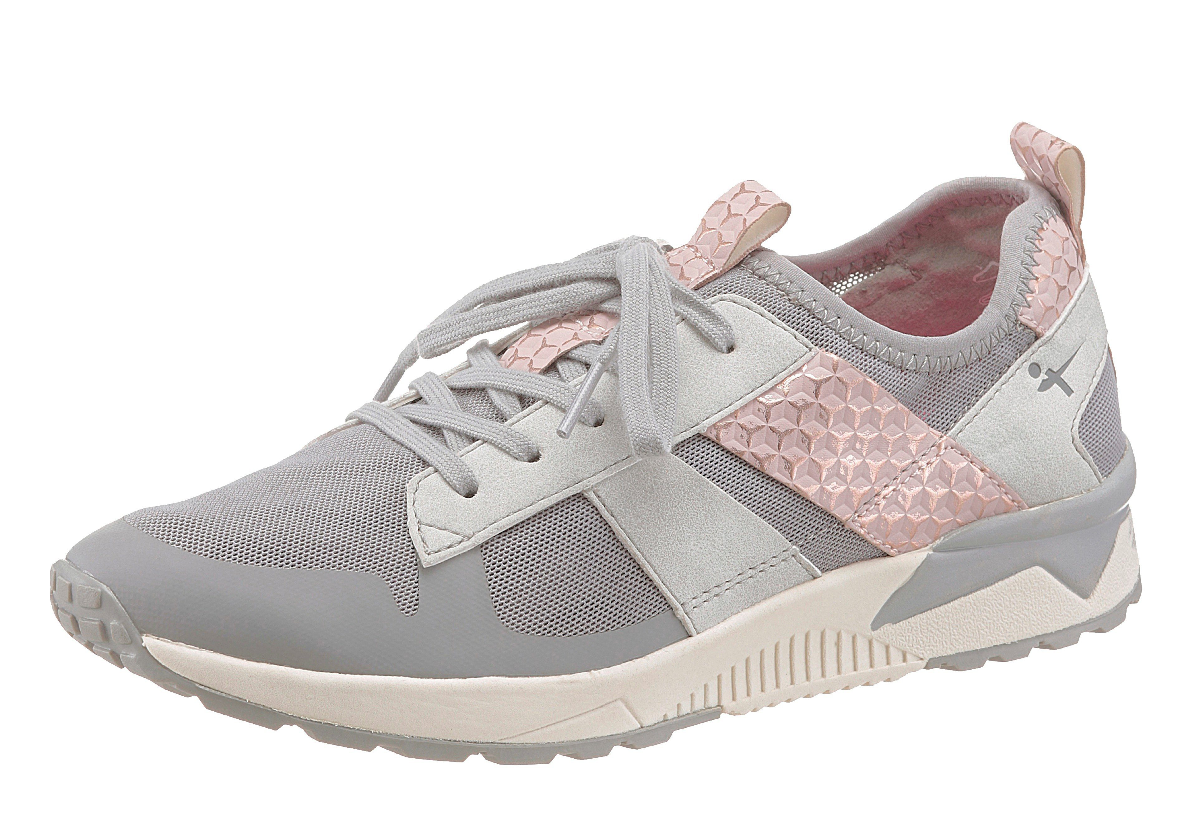 Tamaris Sneaker, mit Yoga it Ausstattung kaufen  grau-rosé