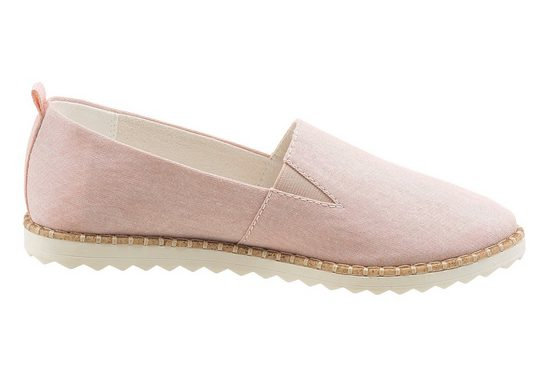 s.Oliver RED LABEL Slipper, mit Stretcheinsatz