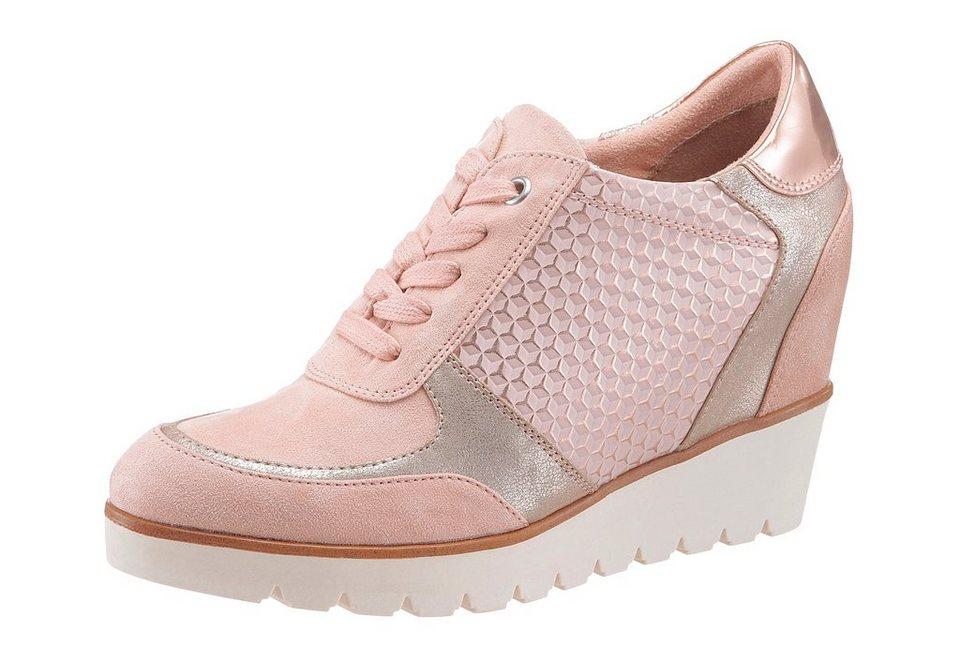 sneakers mit innenliegendem keilabsatz