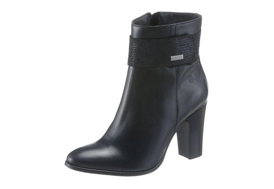 JJ Footwear Stiefelette mit Glitzerdetails in schwarz