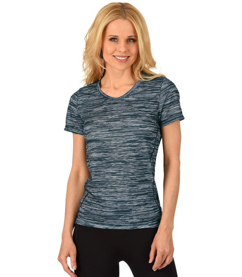 TRIGEMA Sport-Shirt in schwarz