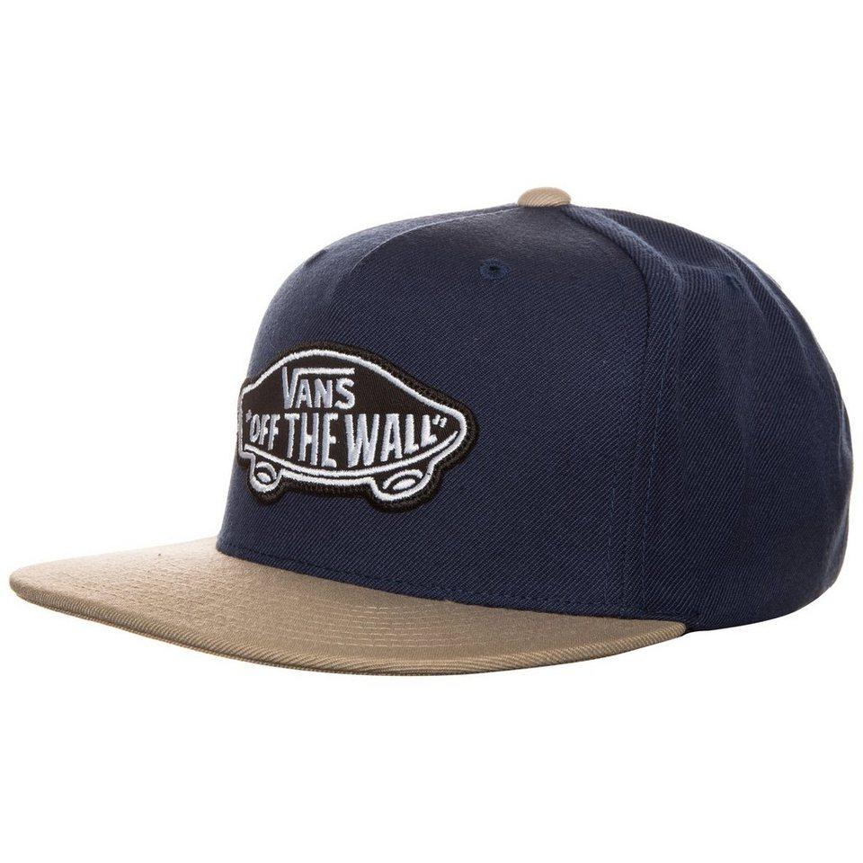 VANS Classic Patch Snapback Cap in dunkelblau / beige