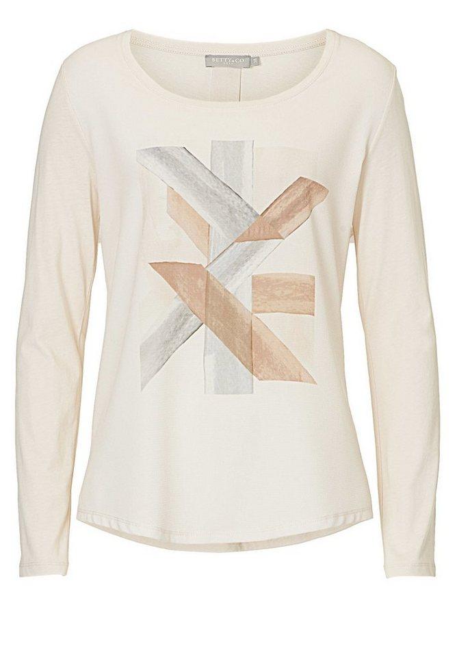 Betty&Co Shirt in Nature/Cream - Bunt
