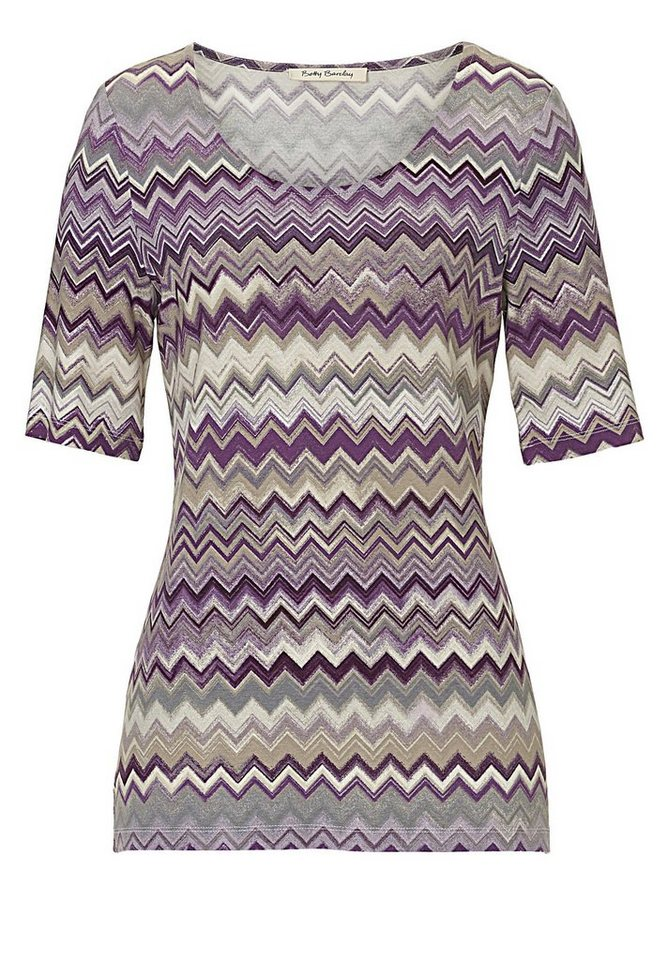 Betty Barclay Shirt in Purple/Violet - Bunt