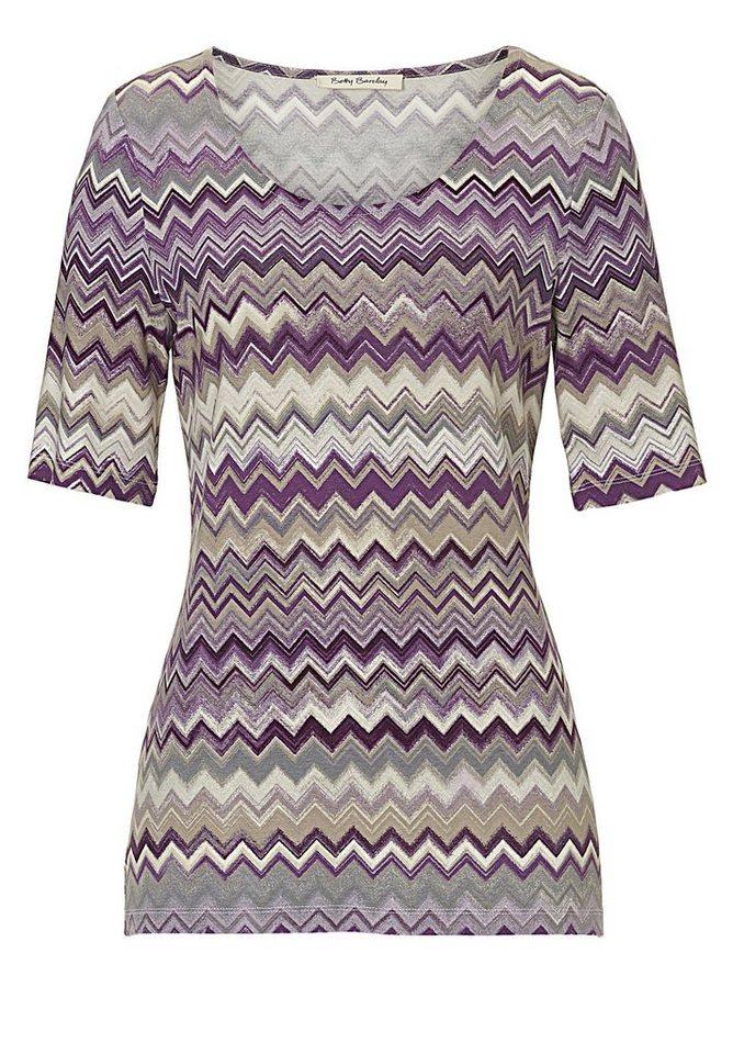 Betty Barclay Shirt in Purple/Violet - Viol