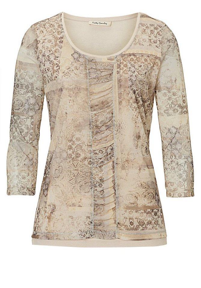 Betty Barclay Shirt in Beige/Grau - Braun