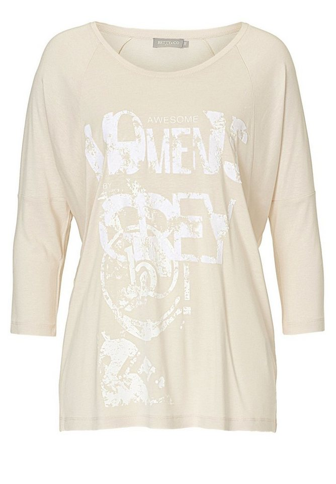 Betty&Co Shirt in cream - Bunt