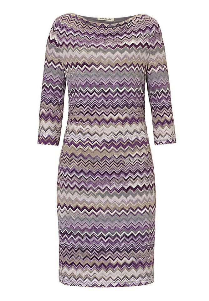 Betty Barclay Kleid in Purple/Violet - Bunt