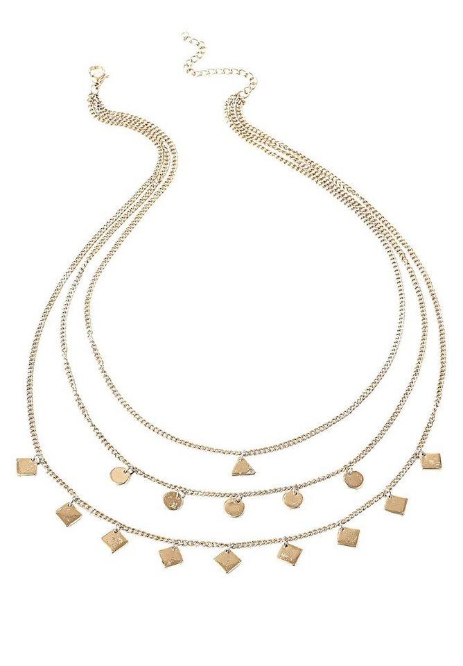Betty&Co Kette in icegold antique - Br