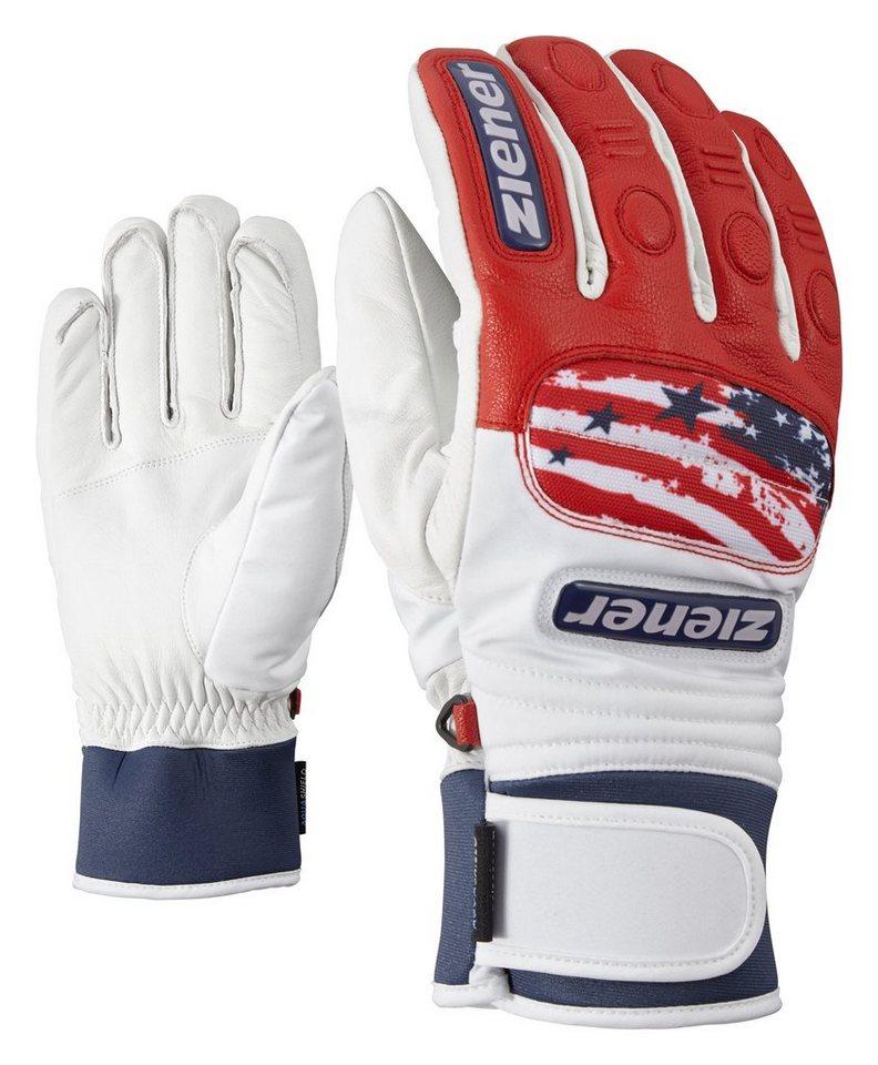 Ziener Handschuh »GRANDAX AS(R) glove race« in USA.vista blue
