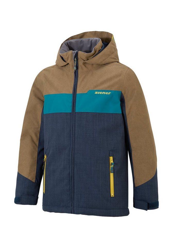 Ziener Jacke »AFURO jun (jacket ski)« in dark navy