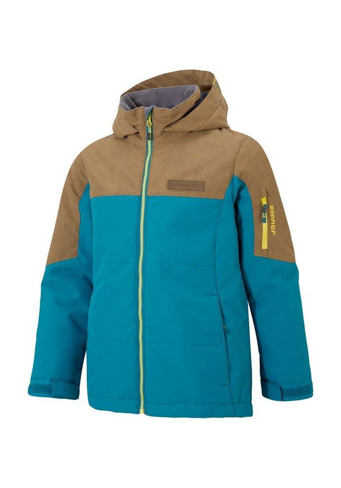 Ziener Jacke »AIKIMO jun (jacket ski)« in island blue