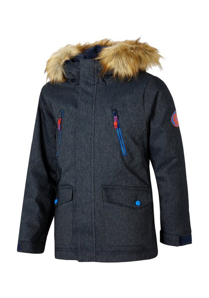 Ziener Jacke »ABUDI jun (parka)« in denim.persian blue