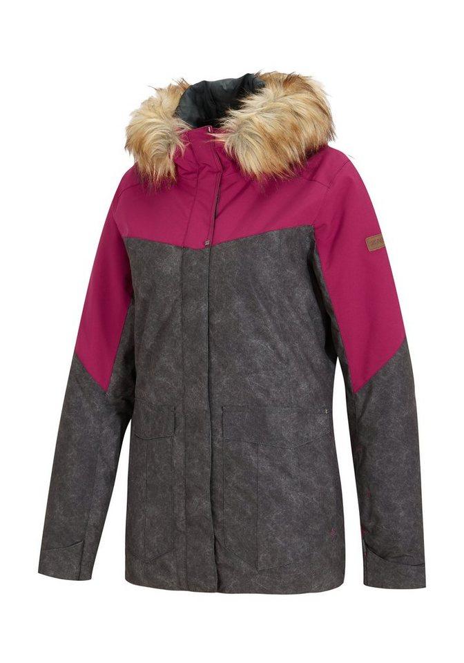 Ziener Jacke »TIKKA lady (jacket ski)« in grey dark washed