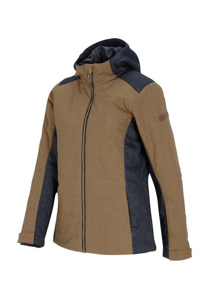 Ziener Jacke »TAFFIA lady (jacket ski)« in beige splash