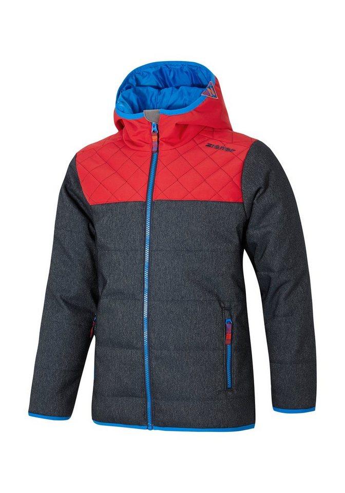 Ziener Jacke »ANHUI jun (jacket ski)« in denim
