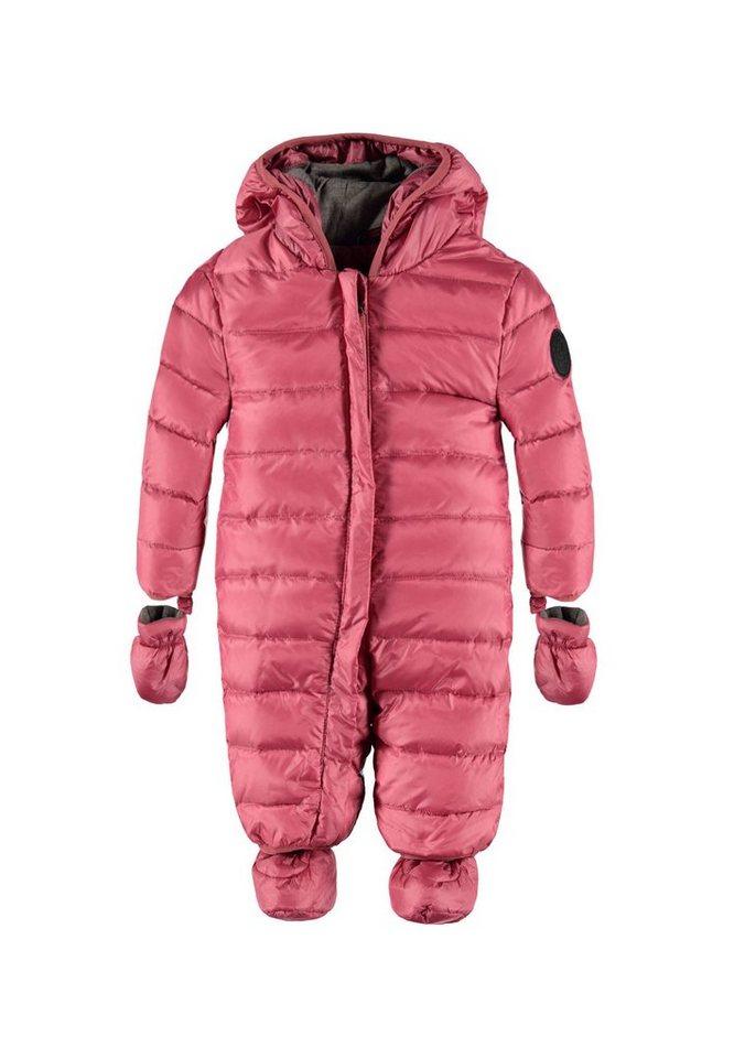 Marc O'Polo Junior Schneeanzug mit Kapuze und abnehmbaren Fäustlingen und Schuhen 1 in Rosé