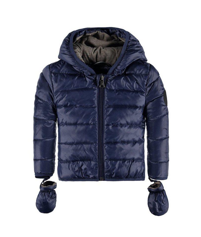 Marc O'Polo Junior Jacke mit Kapuze und abnehmbaren Handschuhen 1 in Tintenblau