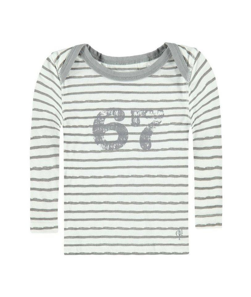 Marc O'Polo Junior Set: T-Shirt langärmlig mit Jogginghose mit Wäschebeutel 1 in Dunkelgrau