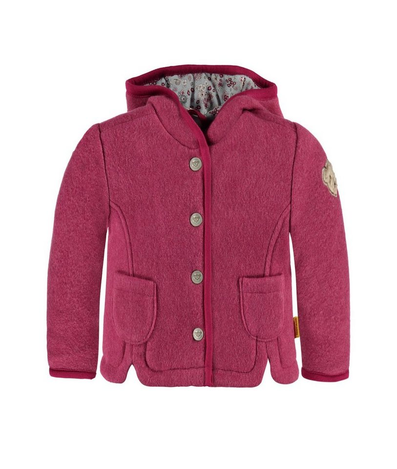 Steiff Collection Jacke Fleece 1 in Dunkelpink