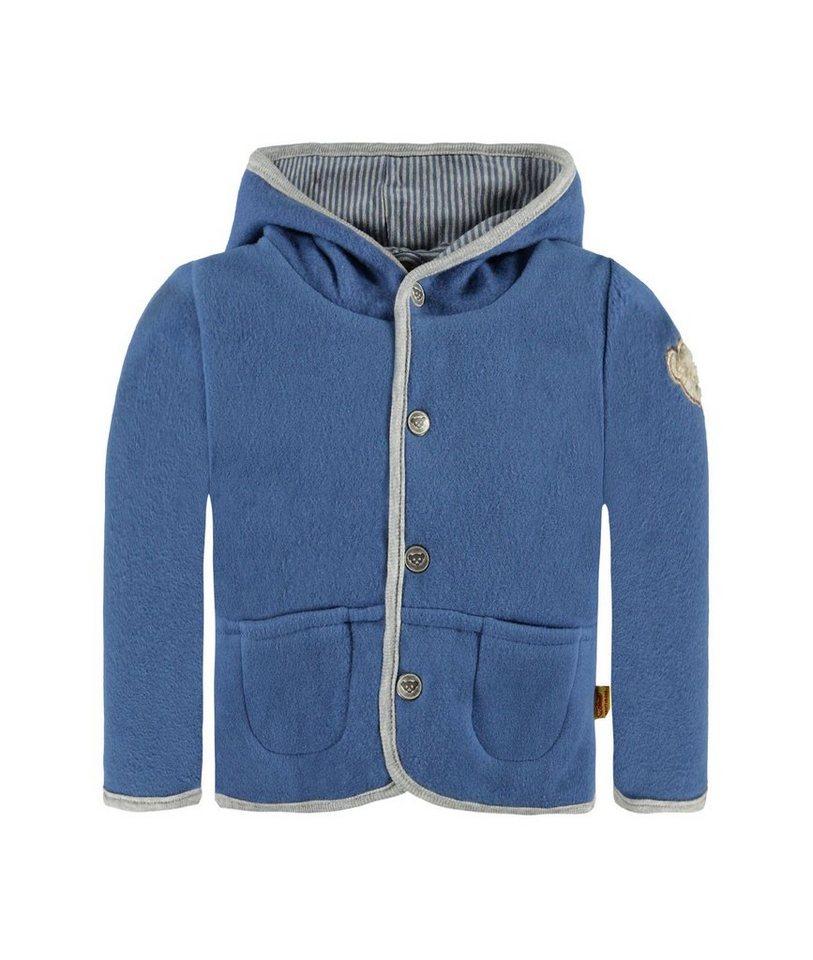 Steiff Collection Jacke Fleece 1 in Blau