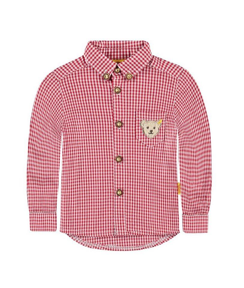Steiff Collection Hemd langärmlig 1 in Dunkelrot