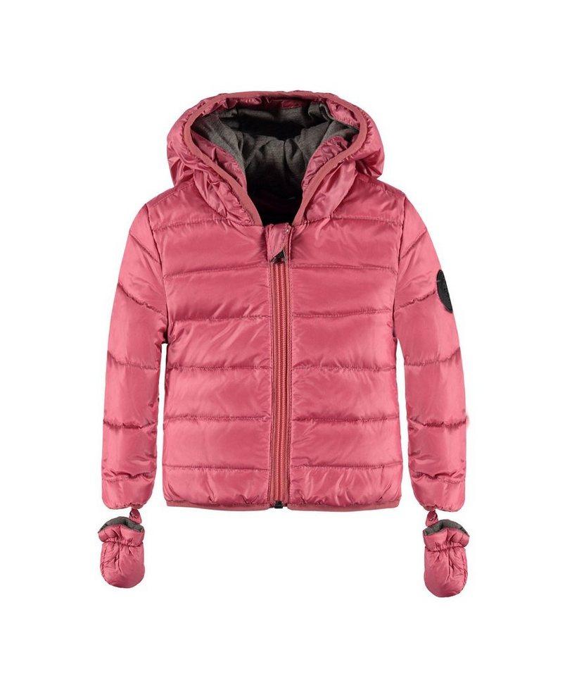Marc O'Polo Junior Jacke mit Kapuze und abnehmbaren Handschuhen 1 in Rosé