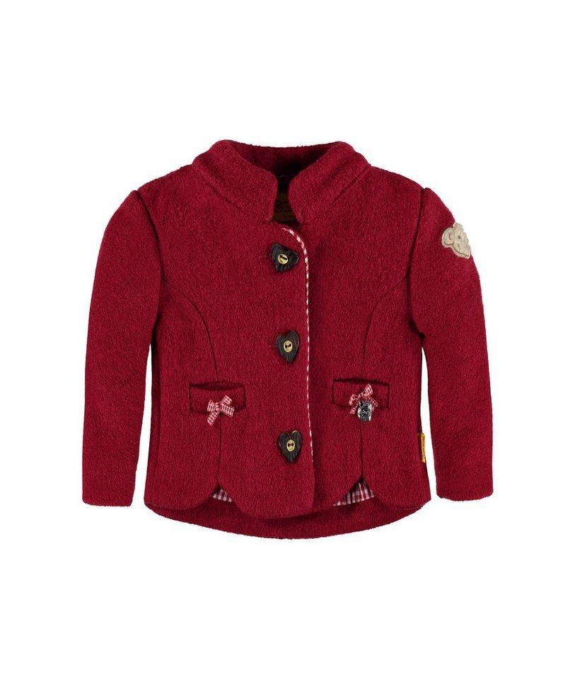 Steiff Collection Jacke 1 in Dunkelrot