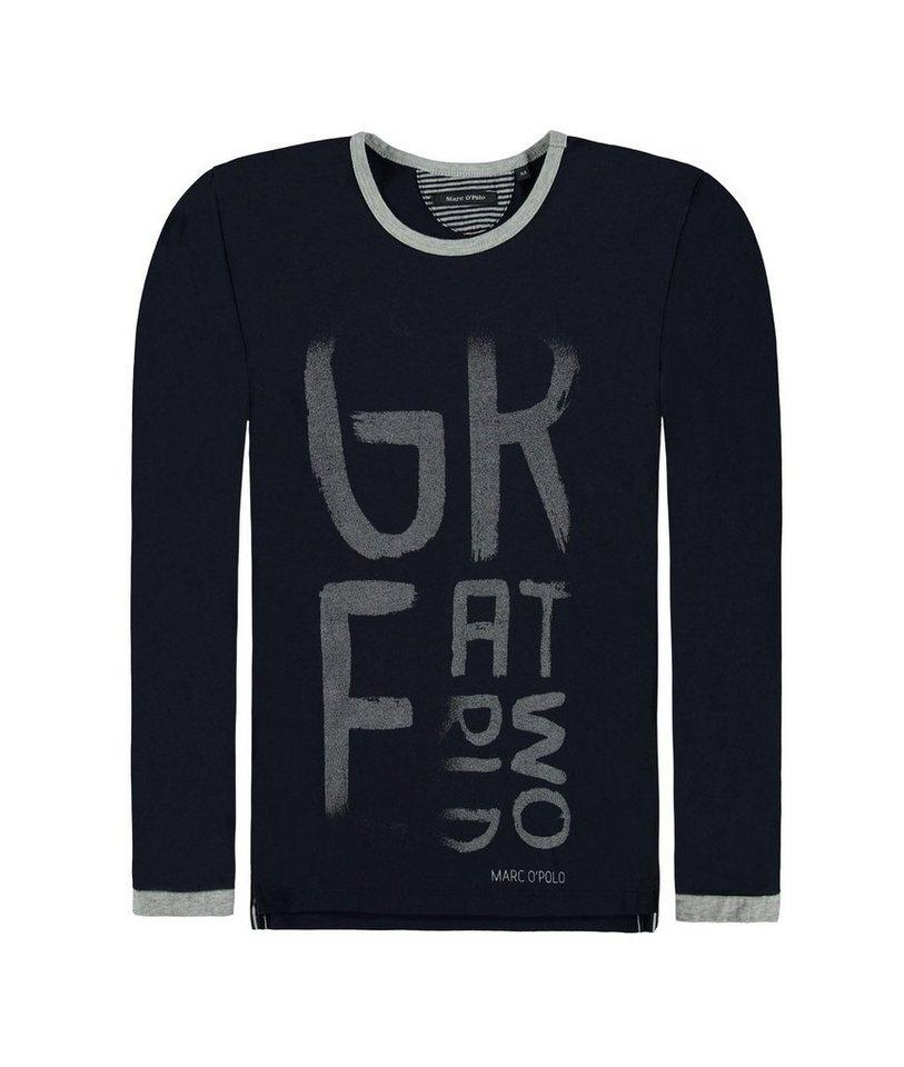 Marc O'Polo Junior T-Shirt langärmlig 1 in Dunkelblau