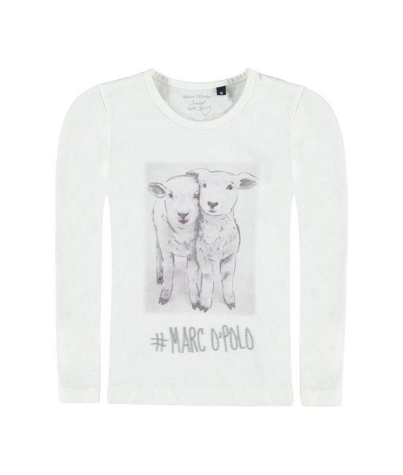 Marc O'Polo Junior T-Shirt langärmlig 1 in Weiß