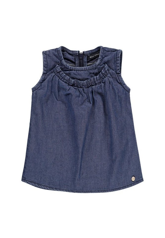 Marc O'Polo Junior Kleid ohne Arm Jeans 1 in Hellblau