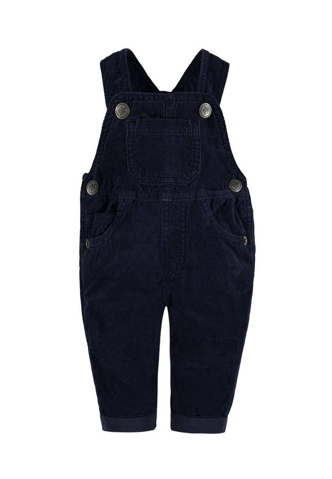 Marc O'Polo Junior Latzhose Cord 1 in Tintenblau