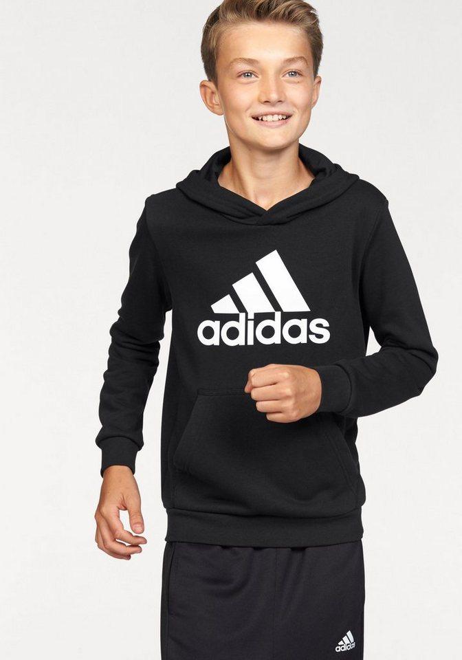 adidas performance kapuzensweatshirt essentials logo. Black Bedroom Furniture Sets. Home Design Ideas