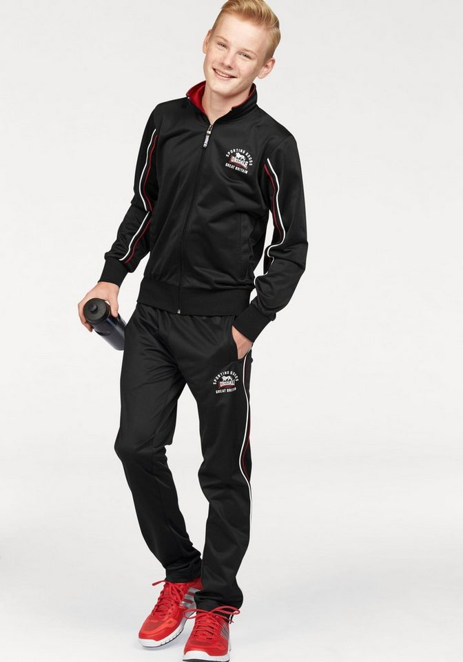 lonsdale trainingsanzug tricot fleece f r jungs otto. Black Bedroom Furniture Sets. Home Design Ideas