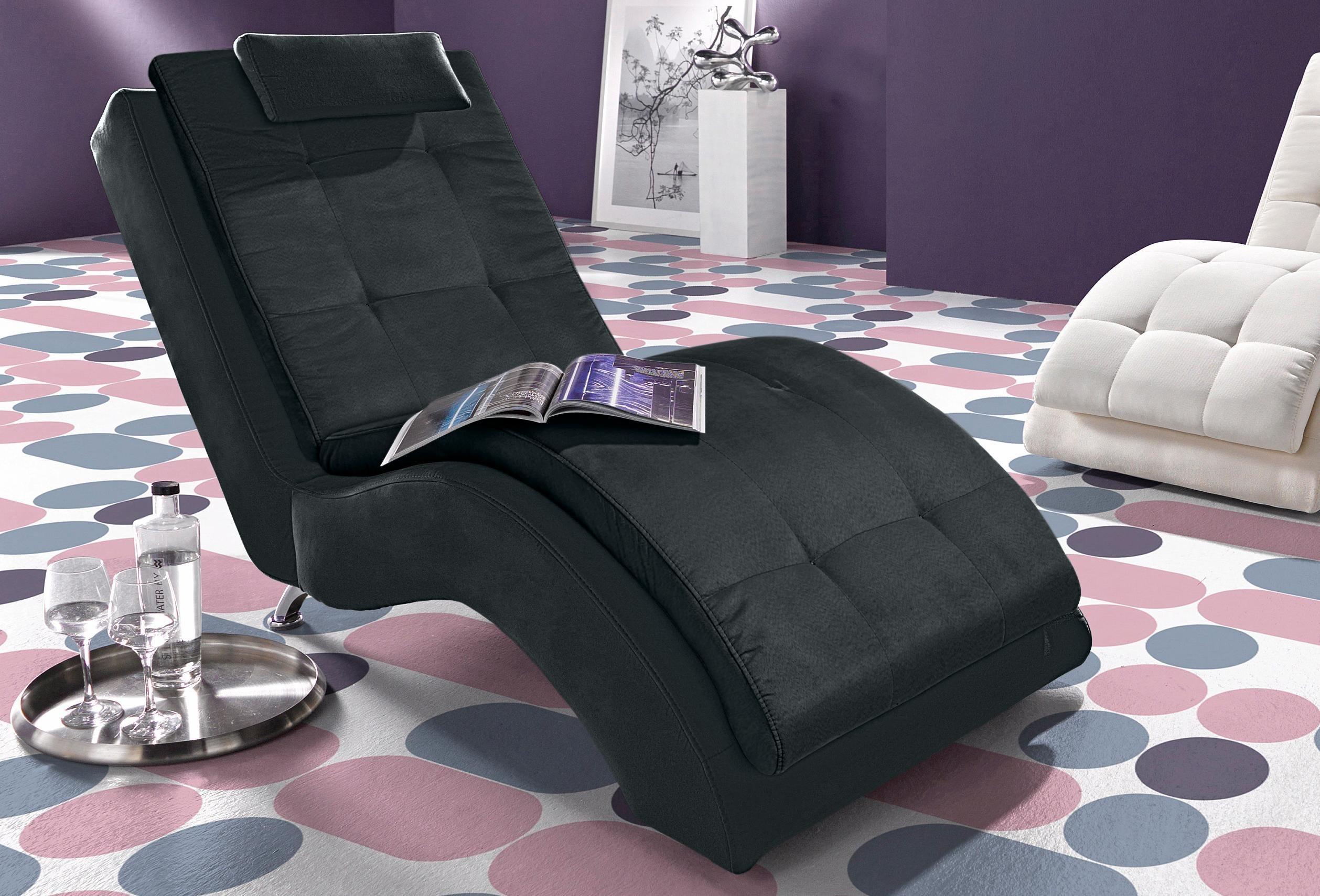 INOSIGN Relaxliege | Wohnzimmer > Sessel > Relaxliegen | Baumwolle - Microfaser | INOSIGN