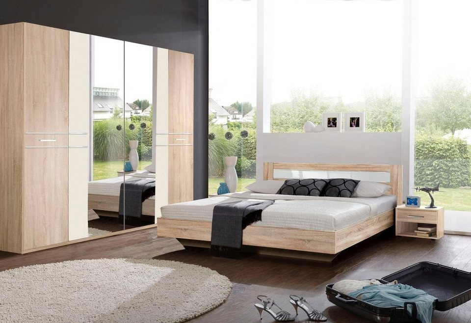 wimex schlafzimmer set mit kleiderschrankschrank 4 tlg. Black Bedroom Furniture Sets. Home Design Ideas